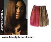 - Premium Now Hh New Yaki Platinum Weave 18