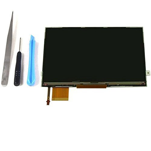 PSP 3000 LCD Screen, Shinefuture LCD Screen Display Replacement for SONY PSP 3000 3001 Series with Backlight + Tools (Psp Lcd Screen Replacement)