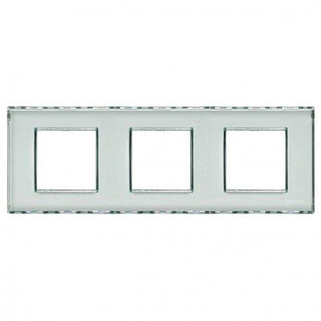 Bticino Livinglight Lnd4802M3Kr - Ll-Placa 2X3M Transp.Perso