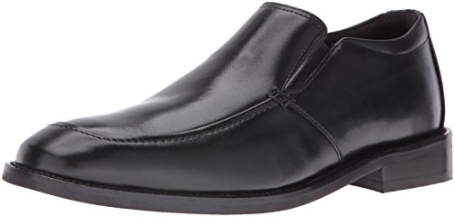 Rockport Men's Smart Cover Slip On Oxford, Black, 11 W US