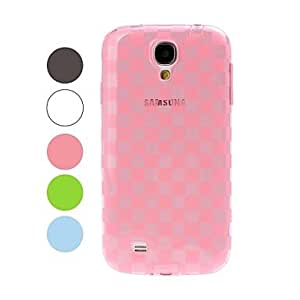ZCL Grid Pattern TPU Soft Case for Samsung Galaxy S4 i9500