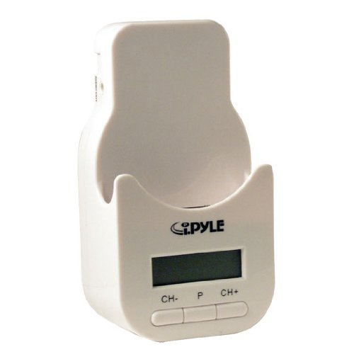 Pyle PIFMPK9 i-Pyle Series iPod Docking Station with 200 Channel FM Transmitter by Pyle