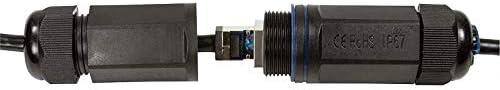 LogiLink Professional Outdoor Patch Cable Cat.6A S//FTP PVC PE 3 m Black