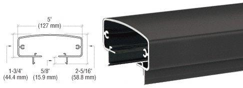 CRL Matte Black 400 Series 241' Top Rail