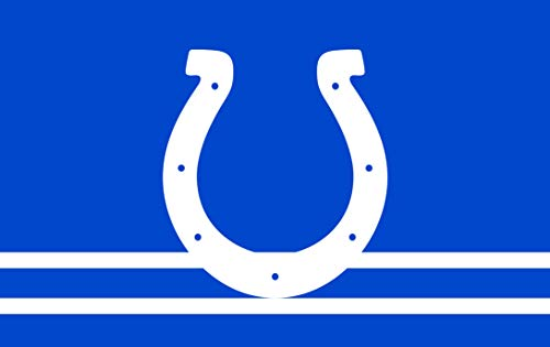 RongJ- store NFL Super Bowl 3-Foot by 5-Foot 3 x 5 Banner Champion Flag (Indianapolis Colts) ()
