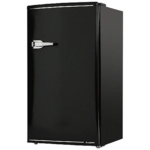 S-cubism 85L 1ドア 右開きタイプ 直冷式 冷蔵庫 ブラックWRD-1085K
