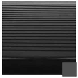 Black/Brown Stair Tread Rubber Square Nose 42