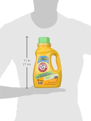 033200099918 - Arm & Hammer Liquid Perfume and Dye Free Dual He, 50 Fluid Ounce carousel main 2