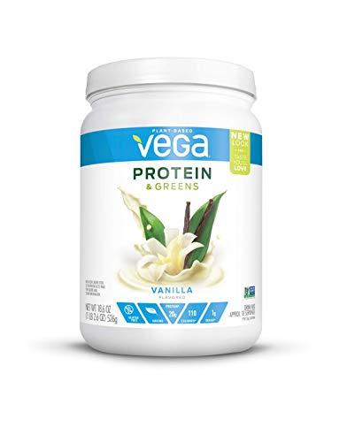 - Vega Protein & Greens Vanilla (18 Servings, 1.16 lb) - Plant Based Protein Powder, Keto-Friendly, Gluten Free,  Non Dairy, Vegan, Non Soy, Non GMO - (Packaging may vary)
