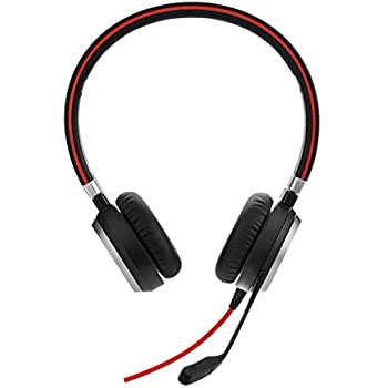 Amazon.com: GN Netcom Jabra Evolve 40 MS Stereo Wired Headset: Cell