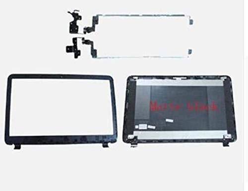 for HP 250 255 256 G3 15-G 15-R 15-T 15-H Matte LCD Back Cover & Front Bezel & Hinges