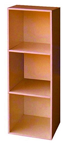 LIBRERIA MOD.CUBO 3 CILIEGIO CM.31X91 Cartomatica Confezione da 1PZ nextradeitalia