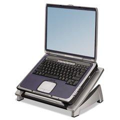 -- Office Suites Laptop Riser, 15 1/8 x 11 3/8 x 4 1/2-6 1/2, Black/Silver