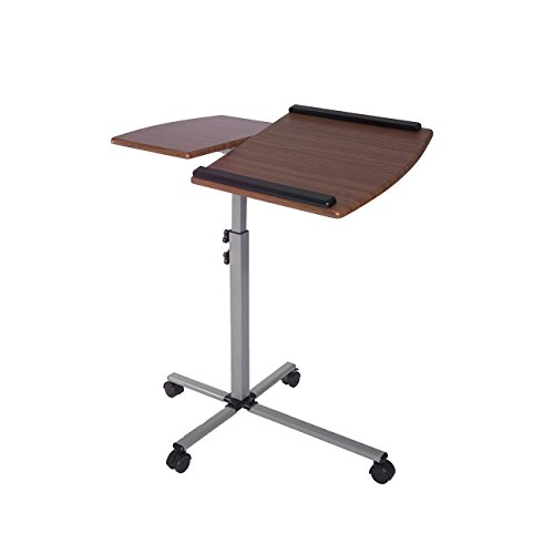 - TECHNI MOBILI Ventura Mobile Laptop Stand in Mahogany