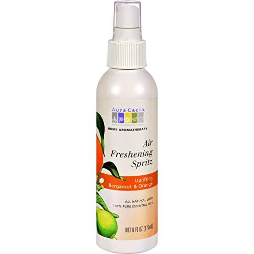 Aura Cacia - Uplifting Bergamot & Orange Air Freshening Spritz 6 oz