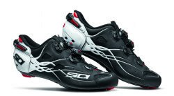Mens White//Red 40.0 Sidi Shot Vent Carbon Cycling Shoe