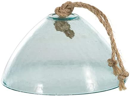 LUXE LODGE Dome in Glass Light Green Single