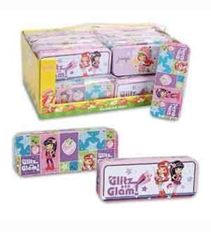 Strawberry Shortcake Pencil Case 8in [Contains 3 Manufacturer Retail Unit(s) Per Amazon Combined Package Sales Unit] - SKU# -
