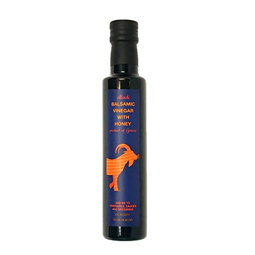 Aged Honey - Oilladi Balsamic Vinegar with Honey imported from Greece