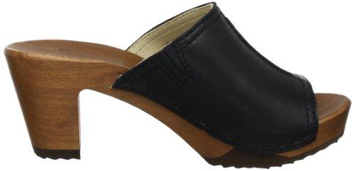 Woody 12234 dixan Nero Noir De 85 Claquettes Femme Chaussures p4xap