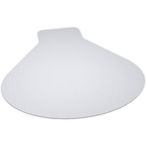 - ES Robbins 122775 Everlife Carpet Chair Mat, Clear