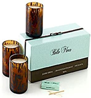product image for Belle Fleur - Petite Trio Floral Candle Gift Set