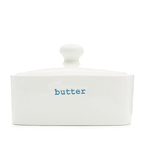 Make International Keith Brymer Jones Word Range Butter Dish, Butter