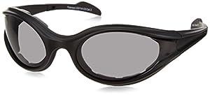 Bobster Foamerz Sport Sunglasses,Black Frame/Smoked Lens,one size