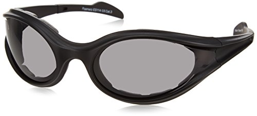 Bobster 30029565 Foamerz Sport Sunglasses,Black Frame/Smoked Lens,one size ()