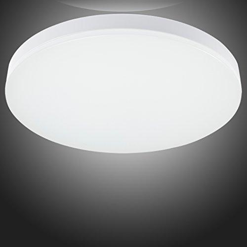 S&G 9.6-Inch LED Ceiling Lights 8w 4000k(Neutral White) 650-750lm Flush Mount Bedroom Ceiling Lights Dining Room Lighting Fixtures