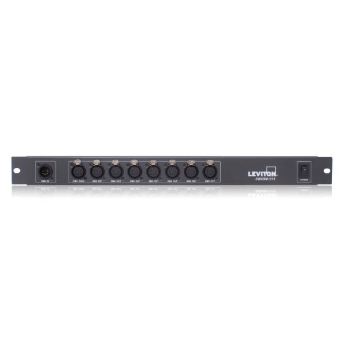 Leviton DMXSM-H18 DMX Signal Management, Optically Isolated, Splitter/Repeater DMX512 by Leviton