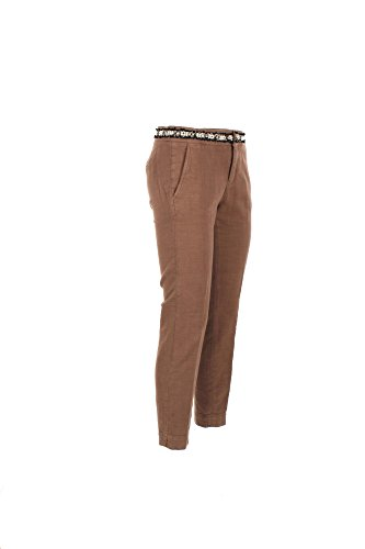 Pantalone Donna Kaos 26 Marrone Hpjbl055 Primavera Estate 2017