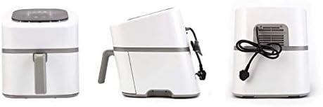 Heteluchtfriteuse Smart Hot Air Fryer |5 kookmodi |Digitaal display touchscreen |4.5L |Olievrij Laag Vet |Oven |Makkelijk schoon te maken wit