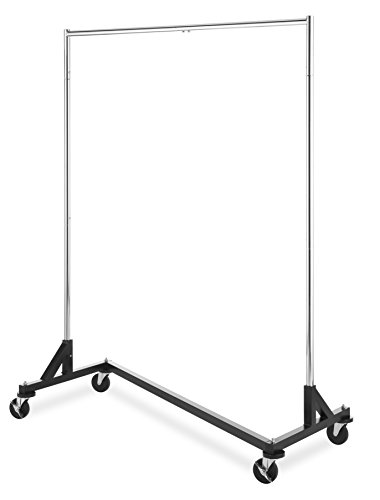 Whitmor Commercial Garment Z-Rack - Silver / Black for sale  Delivered anywhere in USA