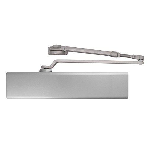 Dexter Commercial Hardware DCM1000-STD-FULL-HW/PA-ALUM, Medium Duty Hold, Open arm Surface Door Closers with Full cover, 689/ALUM, Aluminum by Dexter Commercial Hardware