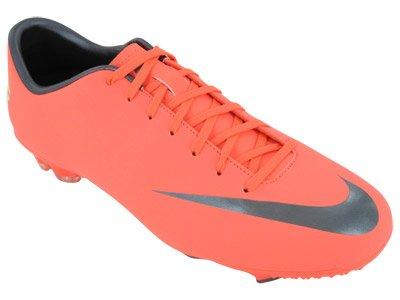 Nike Mercurial Victory III Botas de fútbol, color naranja, talla 40 Naranja - naranja