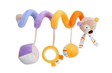 LiroyalCochecito de beb/é Cochecito Cama Espiral Actividad Colgando Juguetes-burro