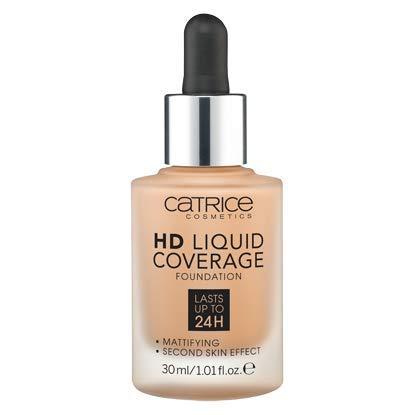 Catrice | HD Liquid Foundation - High & Natural Coverage | Vegan | 035 Natural