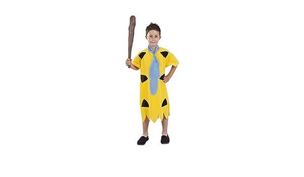 DISBACANAL Disfraz de troglodita Pedro Infantil - -, 10 años ...