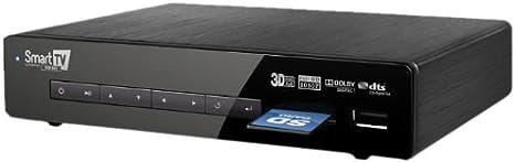 Fantec Smart TV Hub Box - Reproductor Multimedia (USB, HDMI, RJ-45), Negro: Amazon.es: Informática