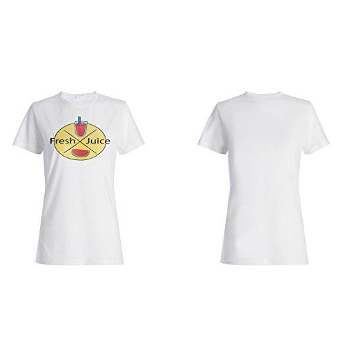 Neue Wassermelone Frischen Saft Damen T-shirt m157f