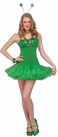 Forum St. Patrick's Day Costume Dress Slip, Green, One Size