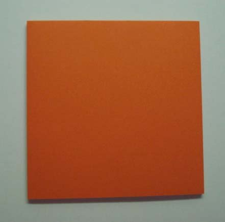 Origami Paper, 50 sheets Orange #N8291 Photo #1
