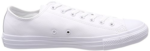 Converse CT Ox Wht, Baskets Mixte Adulte Blanc (100)
