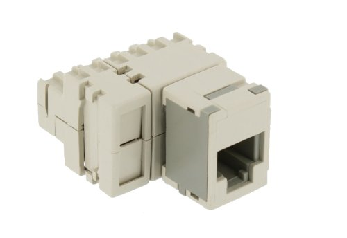 (Leviton 40072-T6 6-Position Modular Adapter, Converts Six Contacts Into A 6-Position, 6-Conductor Modular Jack, (Tap -6))
