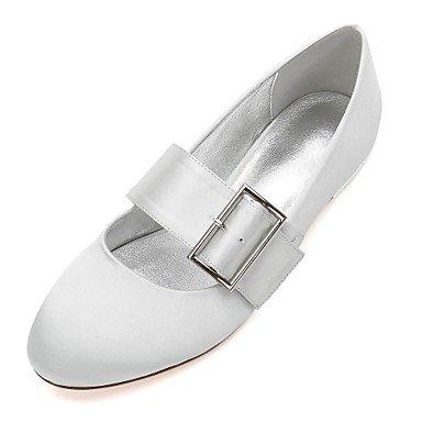 Vestido De Satin Primavera Verano Bowknot US6 Rubí amp;Amp; Rhinestone EU36 Heelivory Confort Plana Noche Shoes UK4 Wedding Boda Azul RTRY CN36 Champán Mujeres'S Las vwXqzAz