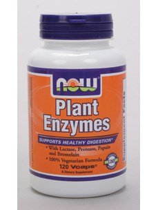 Now Foods: Plant Enzymes Supports Healthy Digestion, 120 vcaps