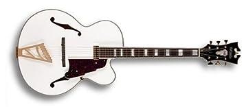 D angelico exl-1 Single Cutaway Guitarra Archtop guitarra de cuerpo hueco eléctrico (