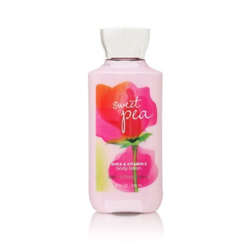 Bath & Body Works Signature Collection Sweet Pea Lotion, 8 fl oz (Pack of 2)