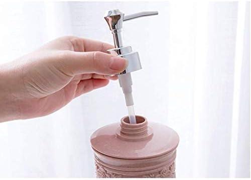 AQL (浴室用)ソープポンプ、キッチンソープディスペンサー、マニュアルソープとソープディスペンサー、プラスチック、 (Size : 2)